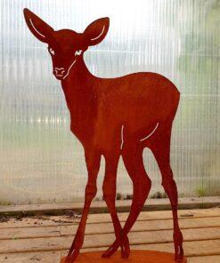Kalnes Hagesenter*Hagemiljø, Figurer, Metall, Rust, Deer