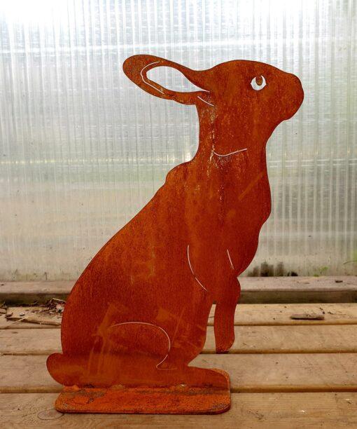 Kalnes Hagesenter*Hagemiljø, Figurer, Metall, Rust, Hare