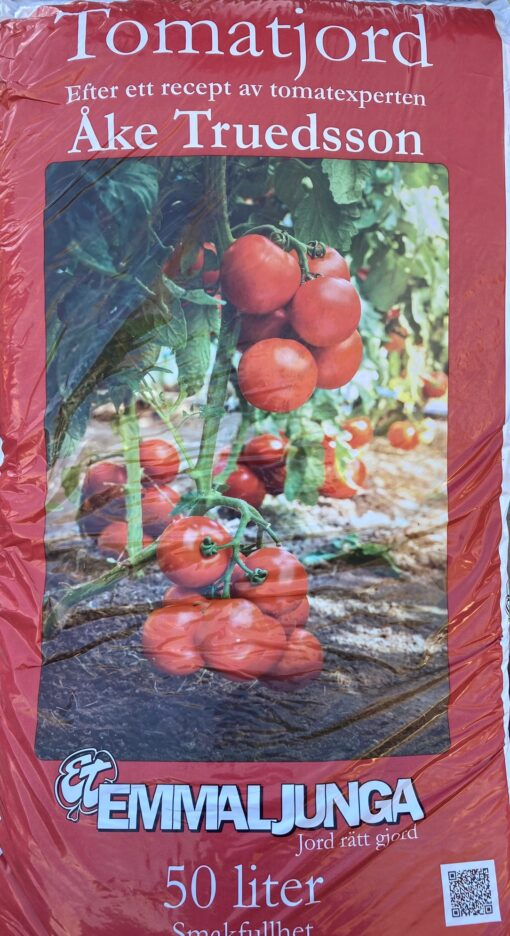 Kalnes Hagesenter * Jord - Emmaljunga Tomatjord 50 liter