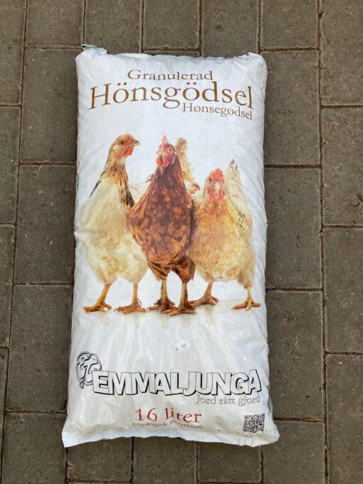 Kalnes Hagesenter * Gjødsel - Emmaljunga Hønsegjødsel 16 liter