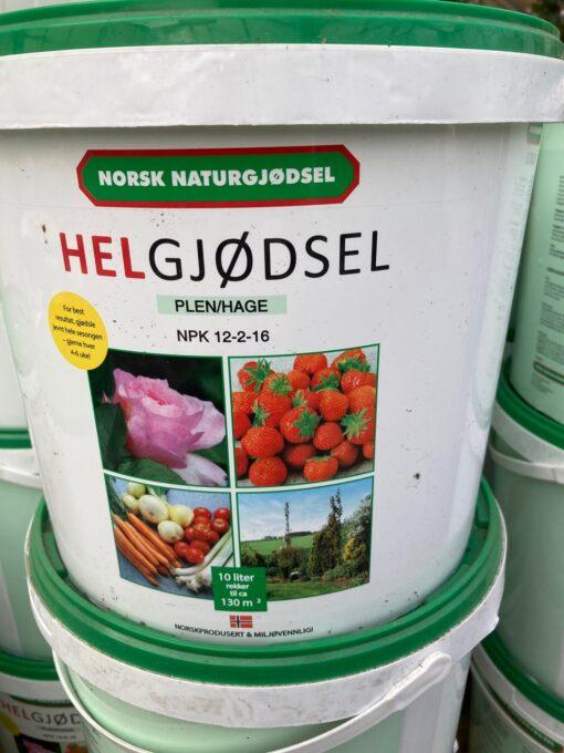 Kalnes Hagesenter * Gjødsel - Helgjødsel 10 liter