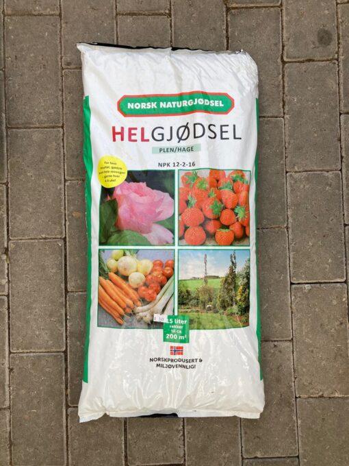 Kalnes Hagesenter * Gjødsel - Helgjødsel 15 liter
